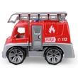 kép nagyítása Műanyag tűzoltó teherautó - 28 cm