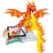 kép nagyítása Crayola: sárkányok és kastélyok kifestő füzet filctollakkal