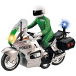 kép nagyítása Rendőrségi motor - 15 cm, többféle