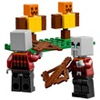 kép nagyítása LEGO® Minecraft A Fosztogató őrtorony 21159
