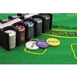kép nagyítása Póker készlet fém dobozban