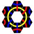 kép nagyítása Tantrix 10 darabos logikai játék