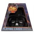 kép nagyítása Star Wars Darth Vader sisak kártya