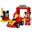 kép nagyítása LEGO® DUPLO Disney Mikiegér versenyautója 10843