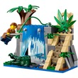 kép nagyítása LEGO® City Dzsungel mozgó labor 60160