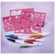 kép nagyítása Textil festékszóró toll készlet