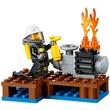 kép nagyítása LEGO City Tűzoltó kezdőkészlet 60106