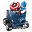 kép nagyítása LEGO Super Heroes 76065 Mighty Micros: Amerika Kapitány Vörös Koponya ellen