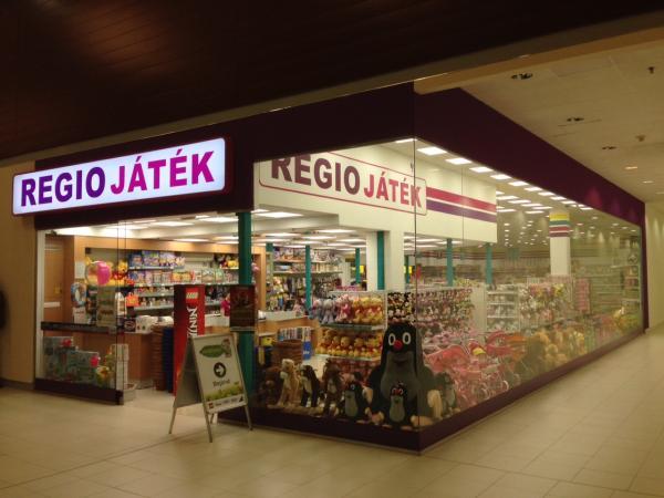 Játékdzsungel, Pólus Center